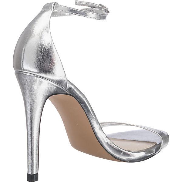 STEVE STEVE STEVE MADDEN Stecy Sandal Sandaletten silber  Gute Qualität beliebte Schuhe b19209