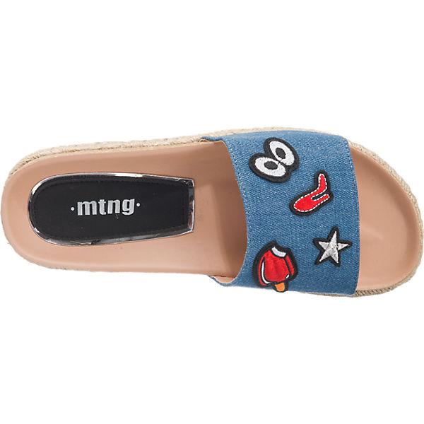 MTNG MTNG Dakota Pantoletten dunkelblau