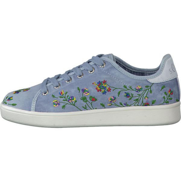 s.Oliver s.Oliver Sneakers blau-kombi