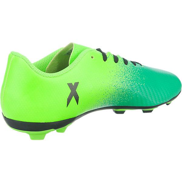 adidas Performance Kinder Fußballschuhe X 16.4 FxG grün