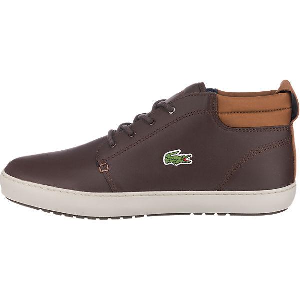 LACOSTE LACOSTE Ampthill Terra Sneakers dunkelbraun  Gute Qualität beliebte Schuhe