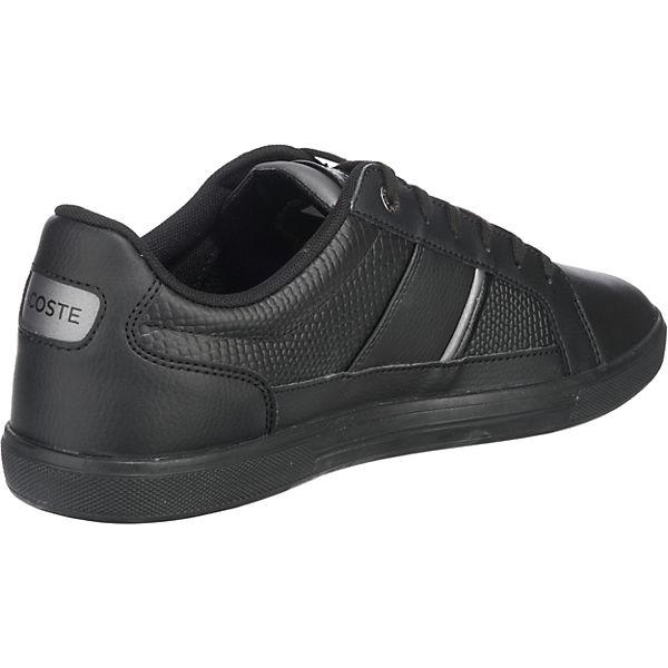 LACOSTE, Europa Sneakers Qualität Low, schwarz  Gute Qualität Sneakers beliebte Schuhe e12e6e
