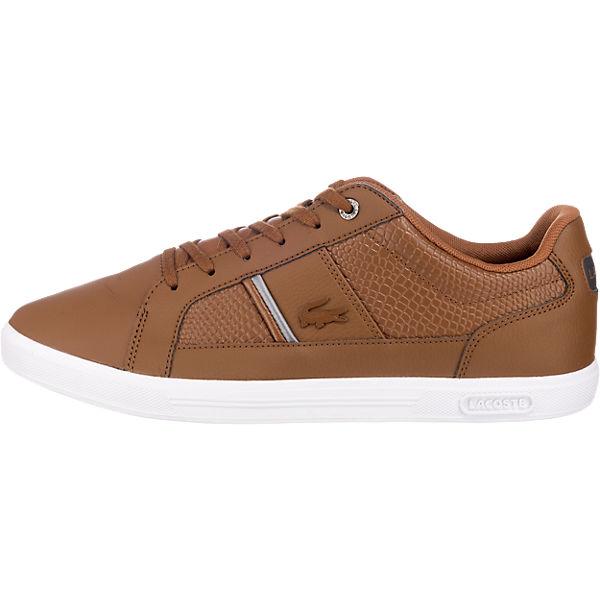 reputable site 2b97a 8e08e LACOSTE, Europa Sneakers Low, braun | mirapodo