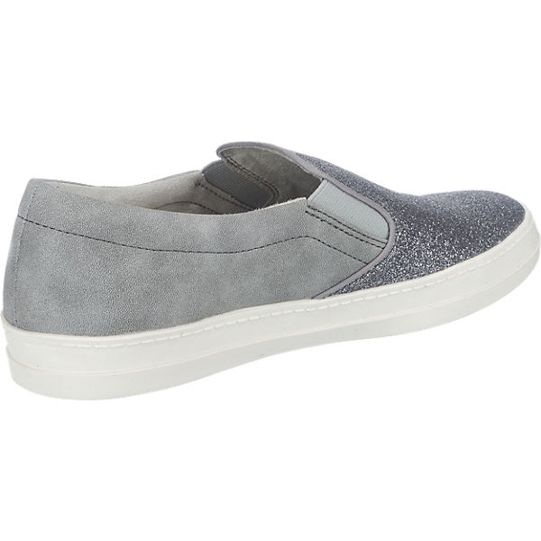Tamaris Tamaris Marras Slipper silber