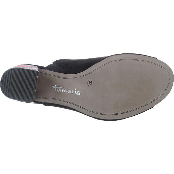 Tamaris Tamaris Heiti Pantoletten schwarz