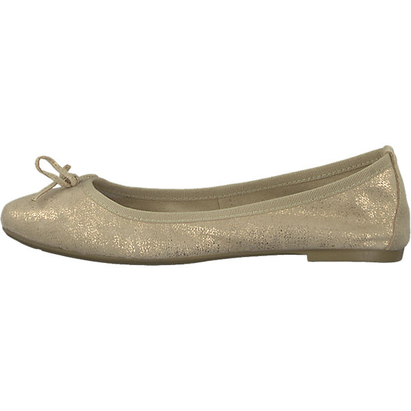 Tamaris Tamaris Belua Ballerinas gold