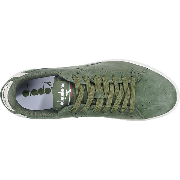 Diadora Diadora Game Low S Sneakers dunkelgrün