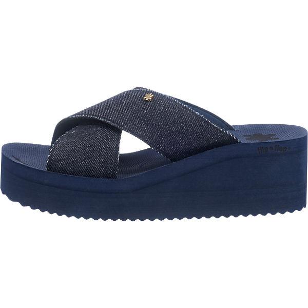 Pantoletten dunkelblau flip flip flop flop vPAnqx01