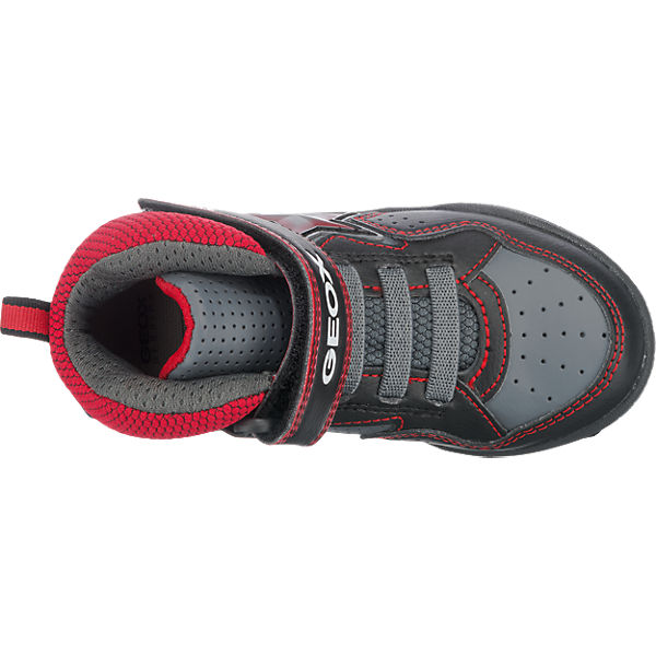 GEOX Sneakers High Blinkies für Jungen, Stern schwarz