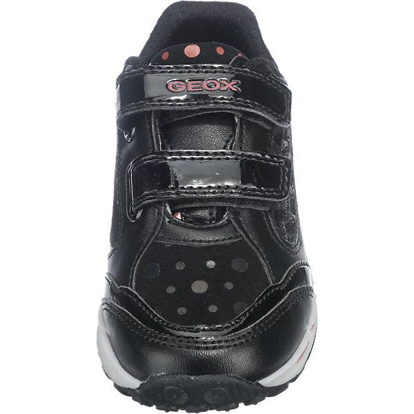 GEOX Sneakers Blinkies für Mädchen schwarz