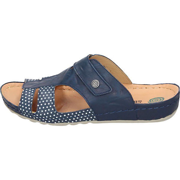 Dr. Brinkmann, Dr. Brinkmann Qualität Pantoletten, blau  Gute Qualität Brinkmann beliebte Schuhe 2446cd