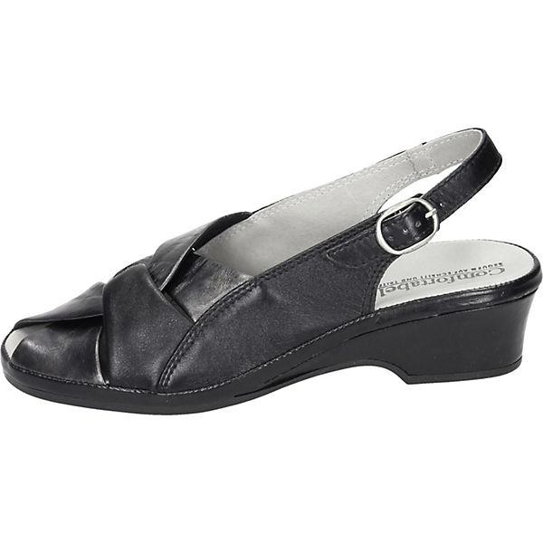 Comfortabel, Gute Comfortabel Sandaletten, schwarz  Gute Comfortabel, Qualität beliebte Schuhe 1b06bf