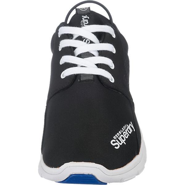 Superdry Superdry Superdry Scuba Runner Sneakers schwarz-kombi