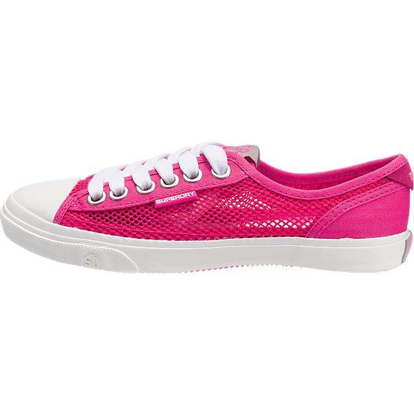 Low Superdry Superdry Mesh Pro pink Sneakers 7Owfqzw