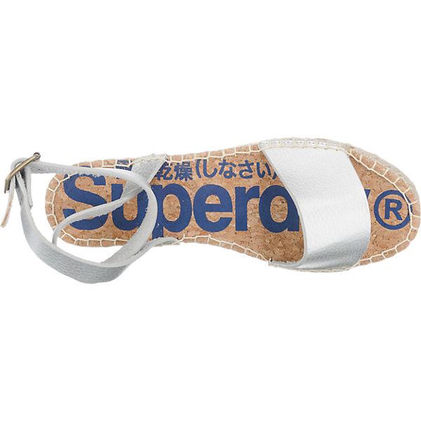 Superdry Superdry Sofia Sandaletten silber