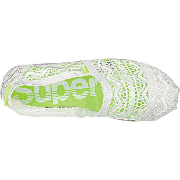Superdry Superdry Jetstream Lace Slipper weiß