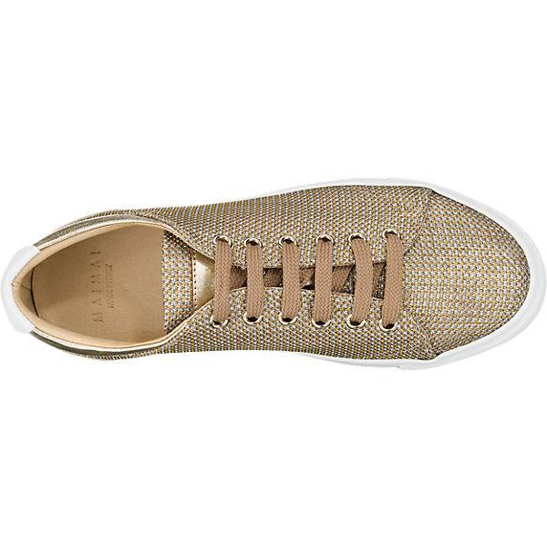 MAIMAI,  MAIMAI Sneakers, gold   MAIMAI, d22efb