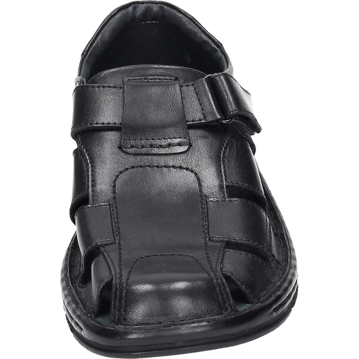 Comfortabel, Comfortabel Herren Flat Komfort-sandalen, Schwarz