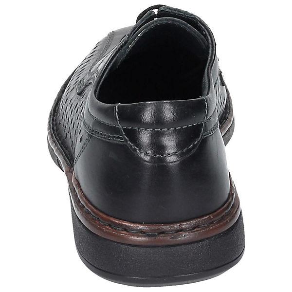 Comfortabel Comfortabel Halbschuhe schwarz