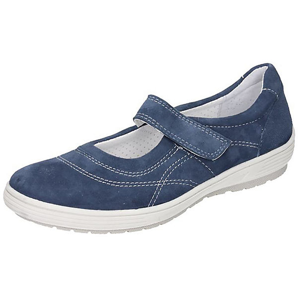 Comfortabel Comfortabel Ballerinas blau