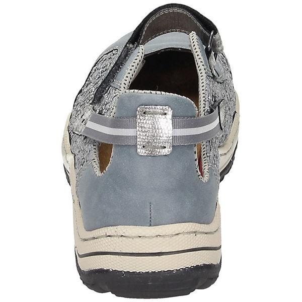 rieker, rieker Sneakers, blau-kombi blau-kombi Sneakers,   c78d65