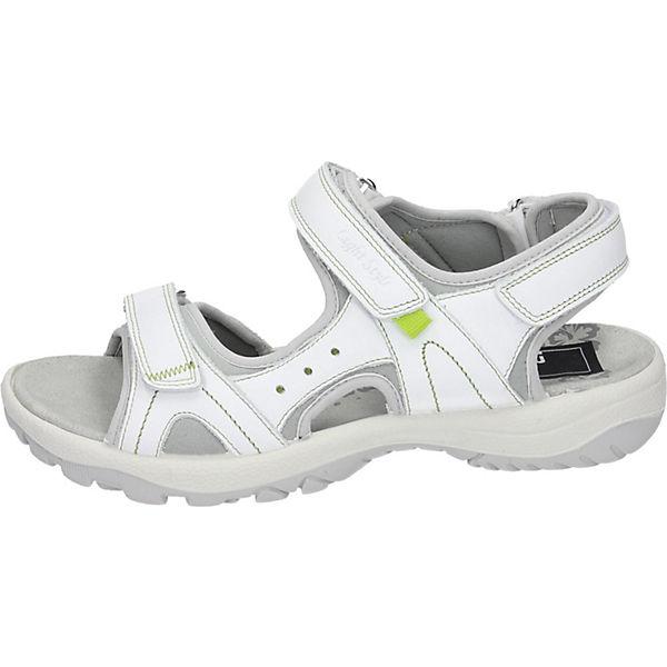 Manitu, Manitu Sandalen, weiß Schuhe  Gute Qualität beliebte Schuhe weiß f00fe0