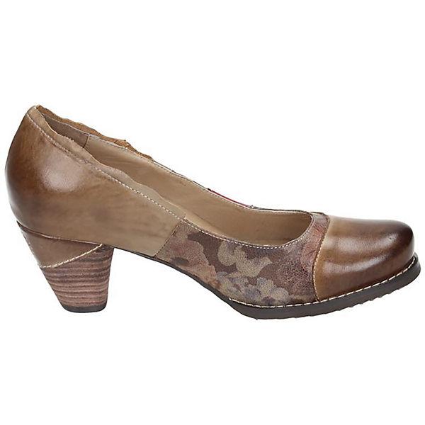 Manitu, Manitu Qualität Pumps, rot-kombi  Gute Qualität Manitu beliebte Schuhe 10b64c