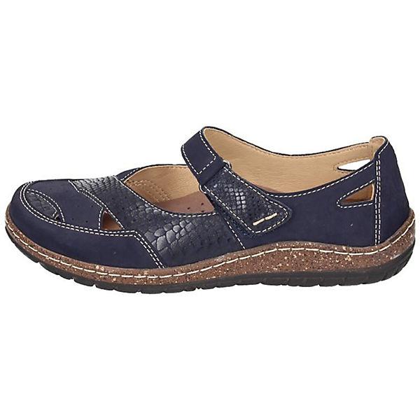 Manitu, Manitu Ballerinas, blau  Gute Qualität beliebte Schuhe