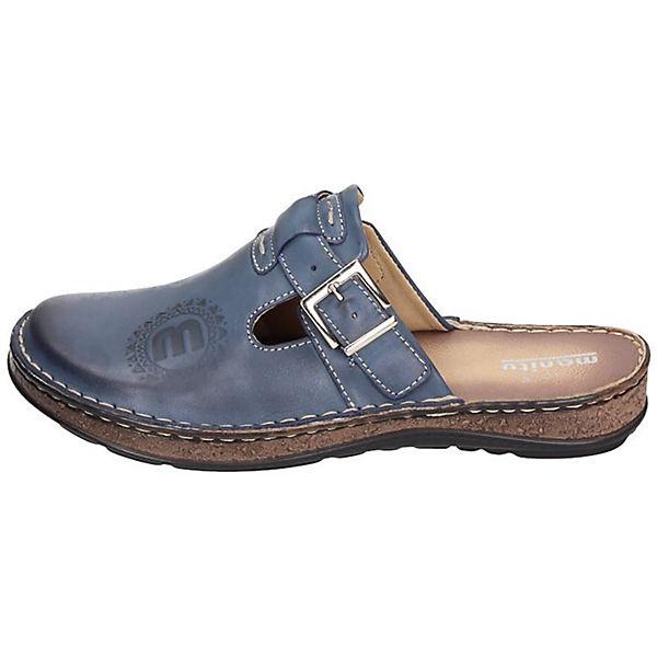 Manitu, Manitu Clogs, blau  Gute Qualität beliebte Schuhe