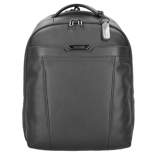 Samsonite Samsonite Sygnum Business Rucksack Leder 46 cm Laptopfach schwarz