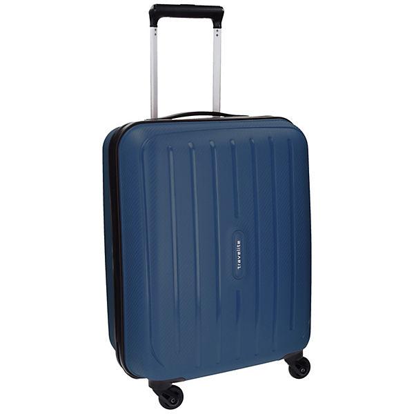 Travelite Travelite Uptown 4-Rollen Kabinen Trolley 55 cm blau