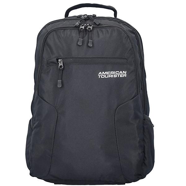 48 Schwarz Urban Laptopfach American Tourister Cm Rucksack Groove 6Yvb7yIfg