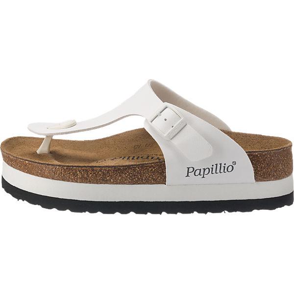 Papillio by BIRKENSTOCK Papillio Pantoletten weit weiß
