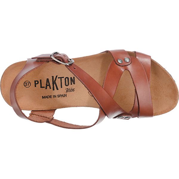 Plakton Plakton dunkelbraun Plakton Plakton Sandaletten 1nfqY5