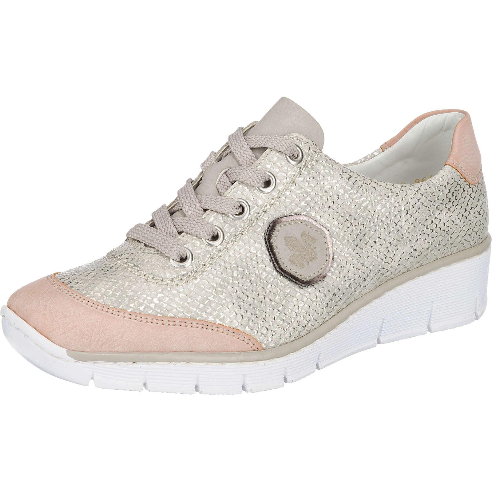 rieker Sneakers grau-kombi Damen Gr. 38