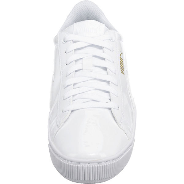 PUMA PUMA Vikky Platform Patent Sneakers weiß