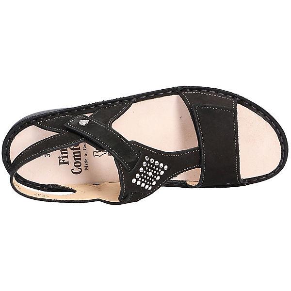 Finn Comfort,  Finn Comfort Sandalen, schwarz  Comfort,  0d8437