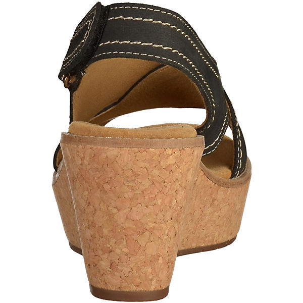 Clarks Clarks Sandaletten schwarz