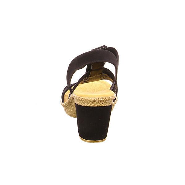 rieker, rieker Sandaletten, Sandaletten, rieker schwarz   b2eda1