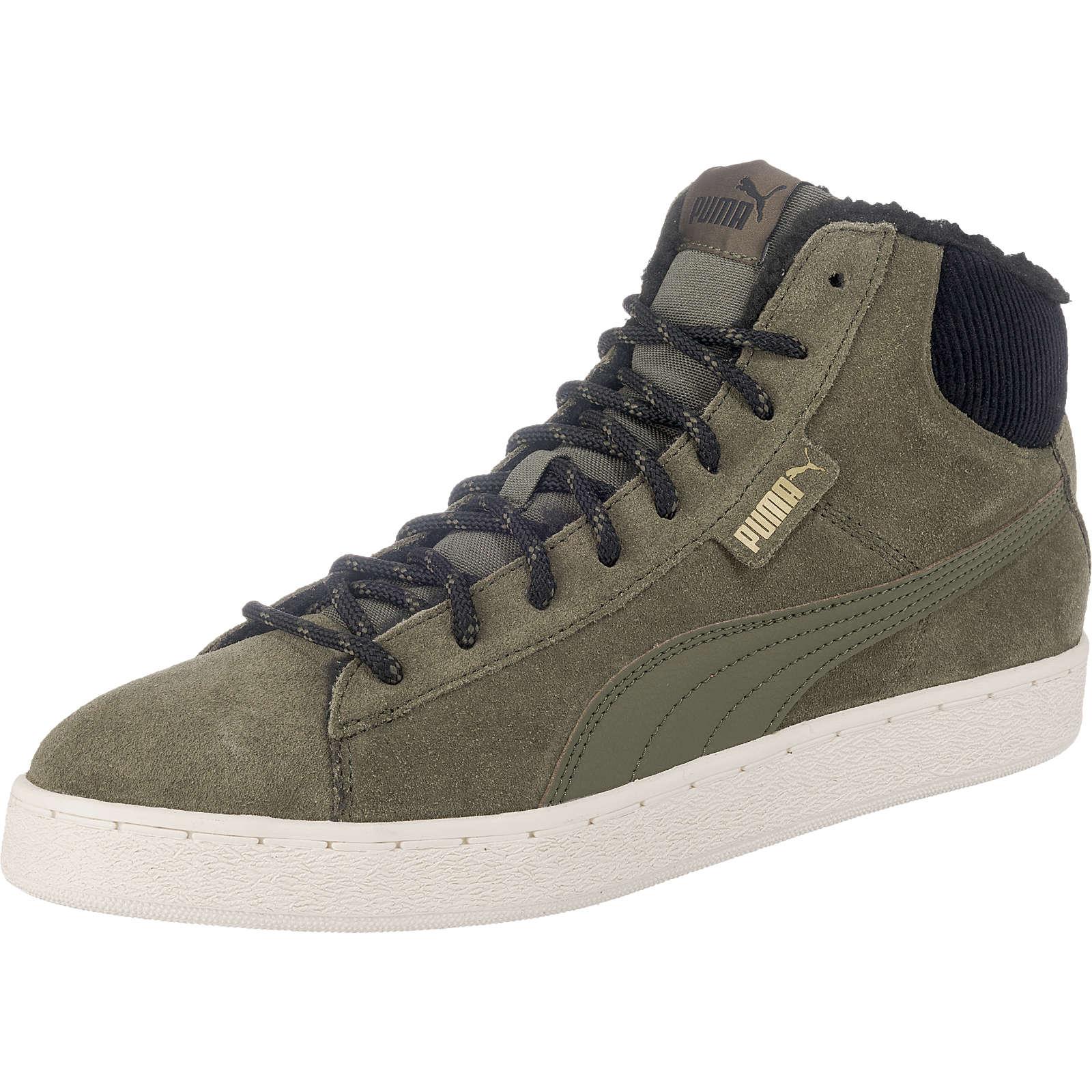 PUMA 1948 Mid Corduroy Sneakers grün Herren Gr. 42,5