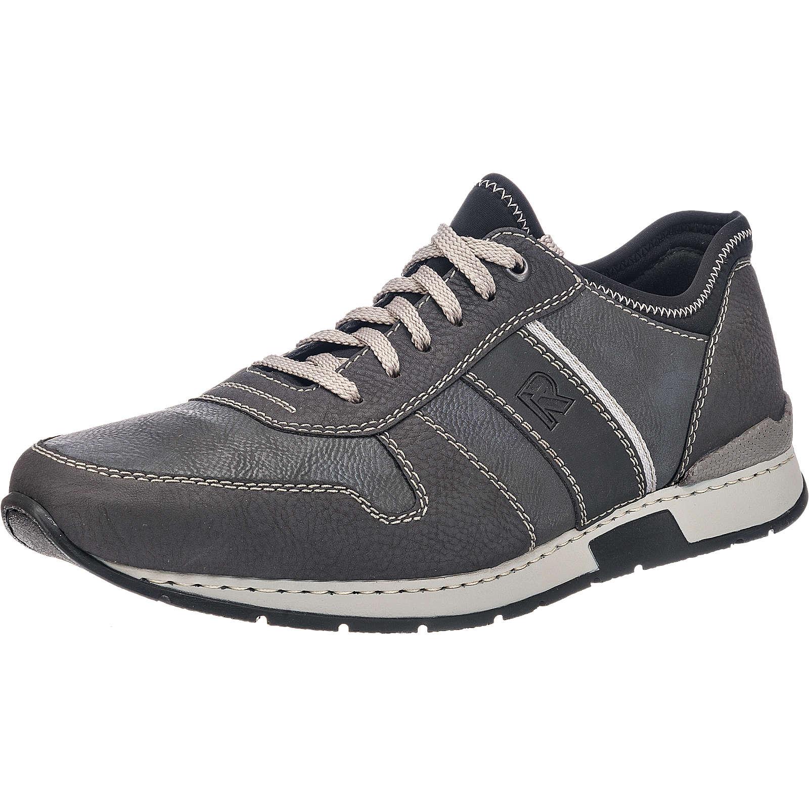 rieker Sneakers schwarz-kombi Herren Gr. 46