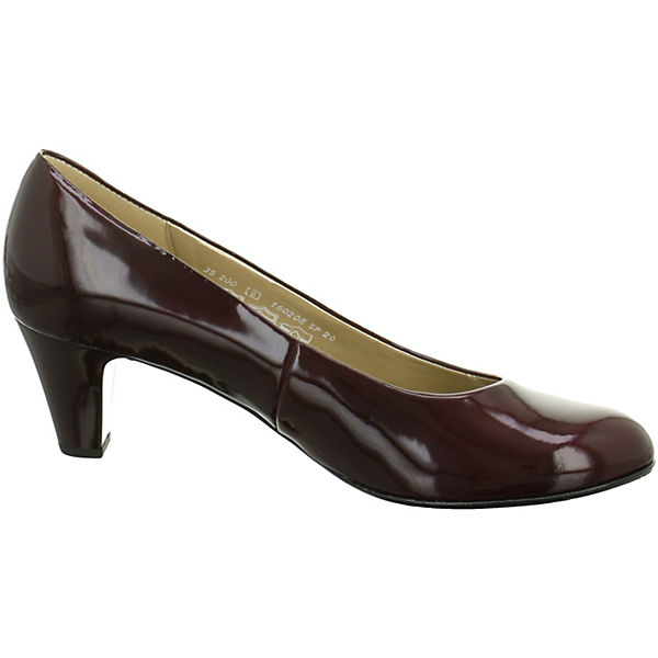 Gabor, Gabor Qualität Pumps, dunkelrot  Gute Qualität Gabor beliebte Schuhe 680a47