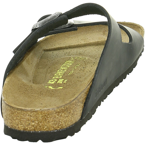 BIRKENSTOCK, BIRKENSTOCK Pantoletten, beliebte schwarz  Gute Qualität beliebte Pantoletten, Schuhe fede0d