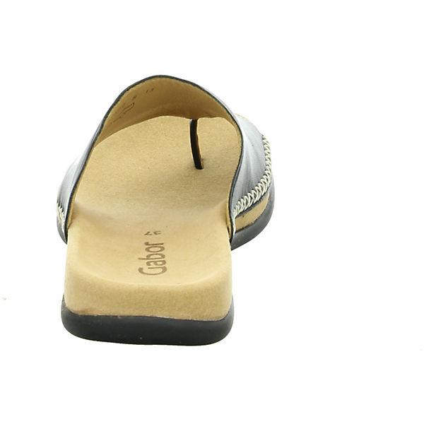 Gabor, Gabor Pantoletten, schwarz beliebte  Gute Qualität beliebte schwarz Schuhe a150aa