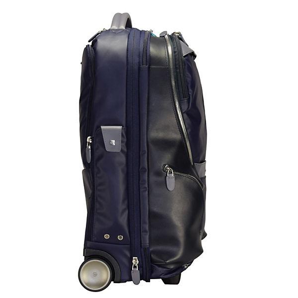 Piquadro 2-Rollen Kabinentrolley 53 cm Laptopfach blau