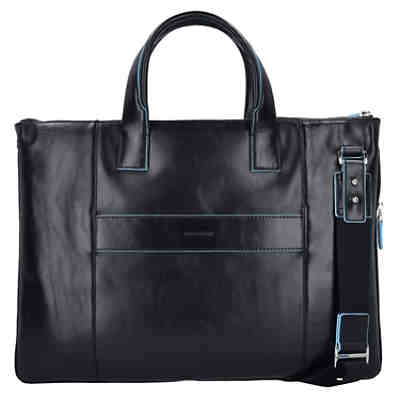 Blue Square Business Tasche Leder 42 cm Laptopfach