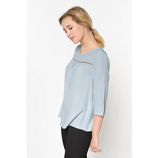 ONLY Blusenshirt ONLY blau Blusenshirt 7IqEdI