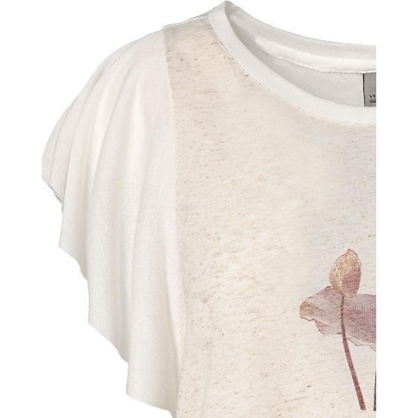 VERO VERO MODA T Shirt MODA weiß 6PSax4q