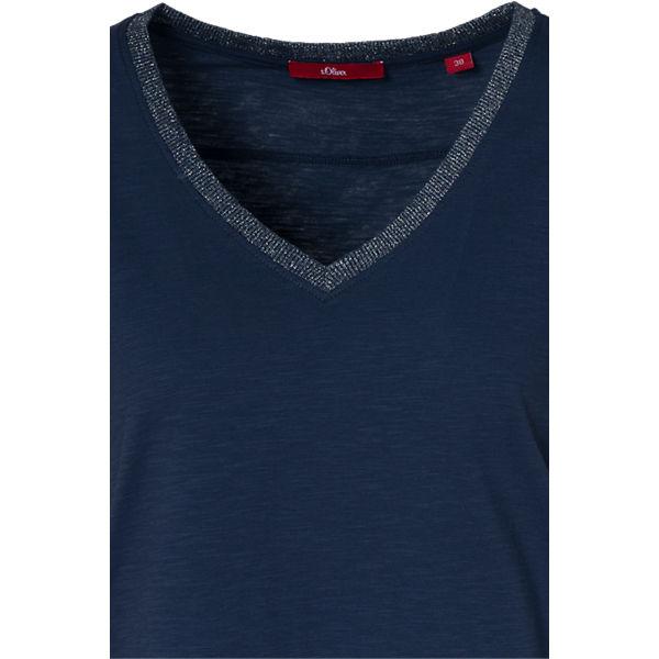 Shirt s dunkelblau s Oliver T Oliver 40TRxY