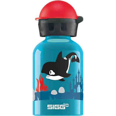 Alu-Trinkflasche Orca Family, 300 ml